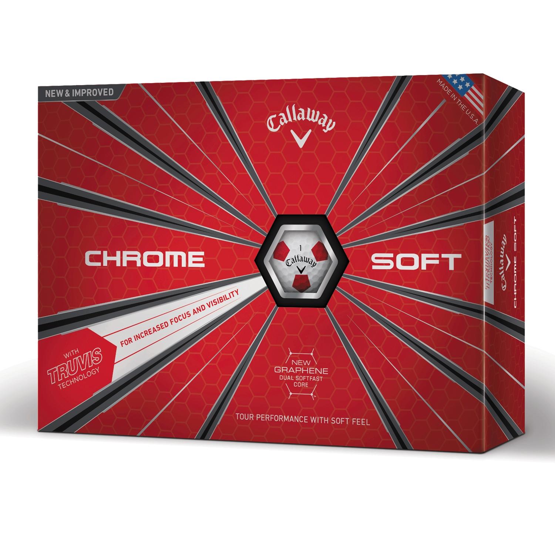 Chrome Soft Golfbälle 2018