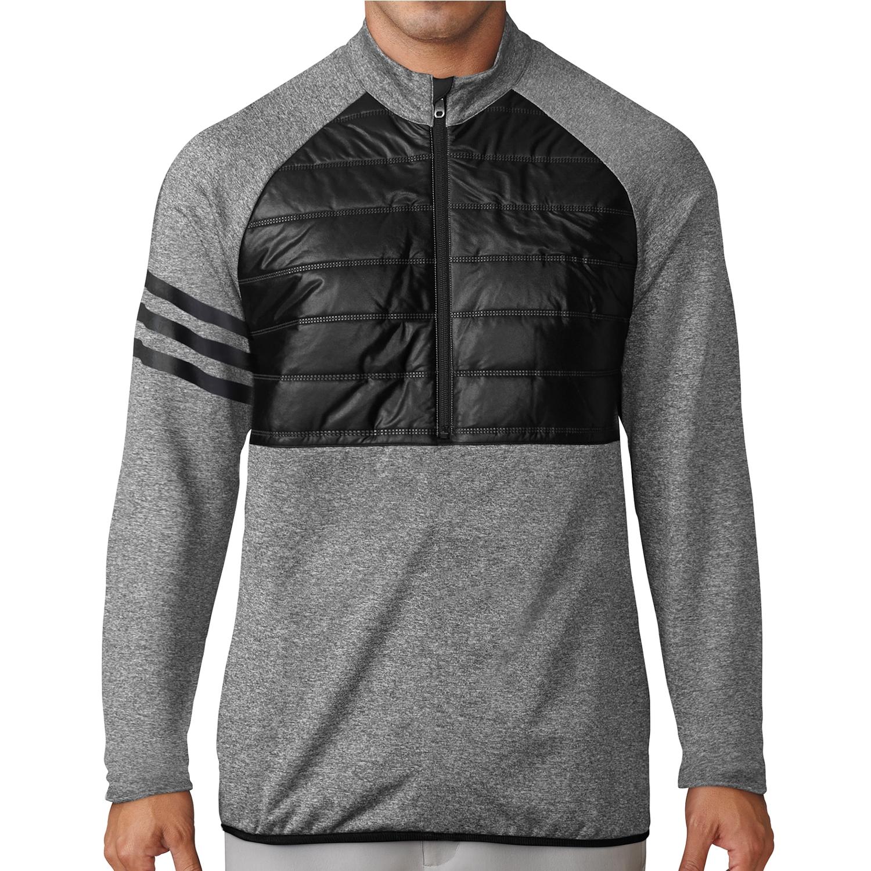 Adidas Climaheat Quilted Half-Zip Jacket Herren
