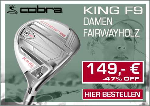 Cobra F9 Damen Fairwayholz