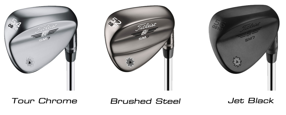 Vokey Wedge Finish