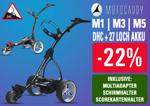 Motocaddy Golf Etrolley Aktion