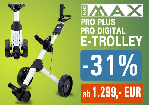 BigMax Pro Golf Elektrotrolley Angebot