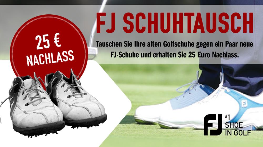 FootJoy Schuhtausch