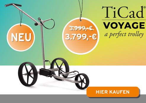 TiCad golf E-Trolley